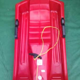 The Steerable single sledge is Sold by Devon Outdoor and The Camping and Kite Centre.