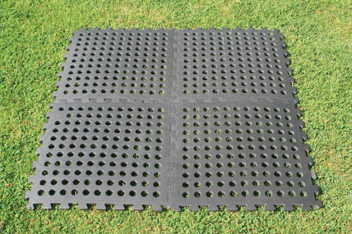 The Kampa Easy Lock Floor Tiles are Sold by Devon Outdoor and The Camping and Kite Centre.
