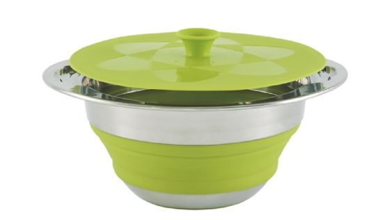 Sold By Devon Outdoor and Camping and Kite Centre Outwell Collaps Pot/Lid 2.5Ltr