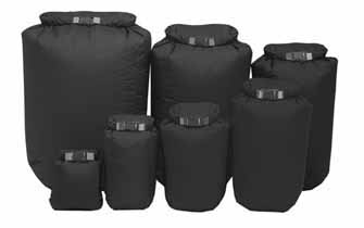 The Exped Fold Drybag Set Black is Sold by Devon Outdoor and The Camping and Kite Centre.