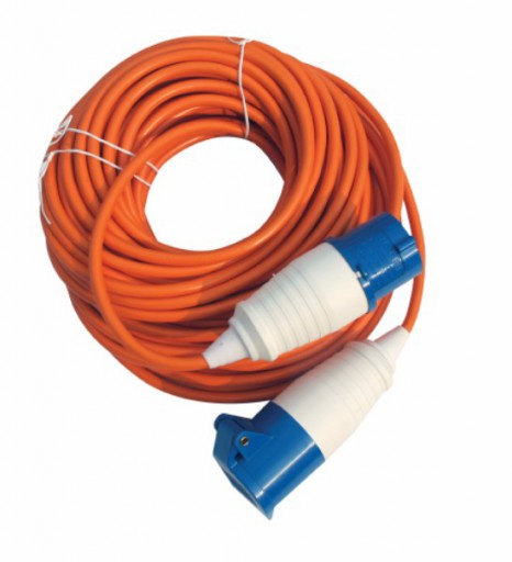 The Kampa Mains Connection Lead 25m is Sold by Devon Outdoor and The Camping and Kite Centre.