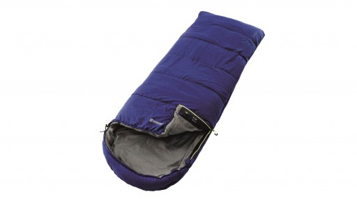 The Outwell Campion Blue Single Sleeping Bag is Sold by Devon Outdoor and The Camping and Kite Centre.