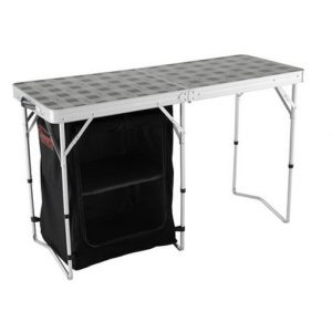 Sold by Devon outdoor and camping and kite centre Coleman 2 in 1 Camp Table And Storage
