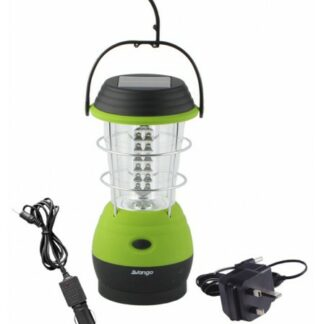 The Vango Galaxy Eco Rechargeable Lantern is Sold by Devon Outdoor and The Camping and Kite Centre.