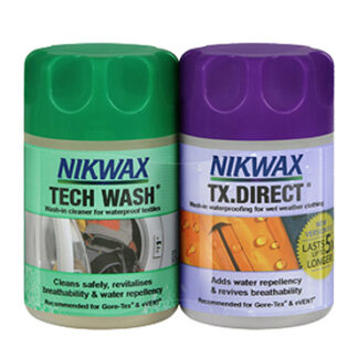 Nikwax Tech Wash And TX Direct 150ml Twin Pack