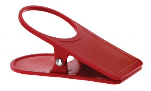 Quest Table Clip And Cup Holder Red