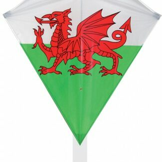 The Spirit of Air Welsh Diamond Kite is Sold by Devon Outdoor and The Camping and Kite Centre.