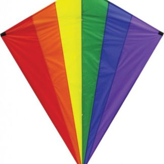 The Spirit of Air Diamond Rainbow Giant Kite is Sold by Devon Outdoor and The Camping and Kite Centre.