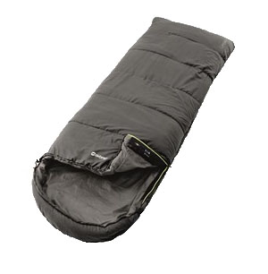 The Outwell Campion Grey Single Sleeping Bag is Sold by Devon Outdoor and The Camping and Kite Centre.