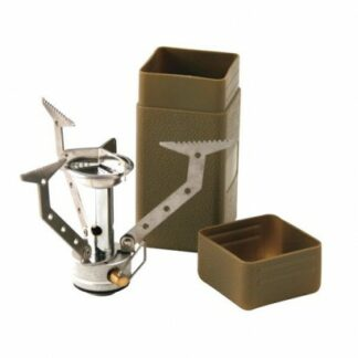 The KombatUK Commando Compact Stove is Sold by Devon Outdoor and The Camping and Kite Centre.
