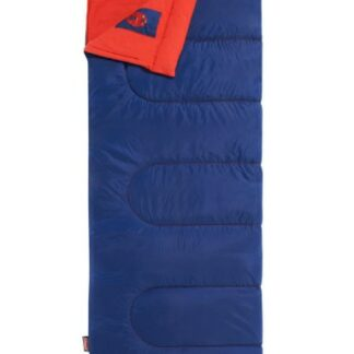 The Coleman Heaton Peak Junior Sleeping Bag is Sold by Devon Outdoor and The Camping and Kite Centre.