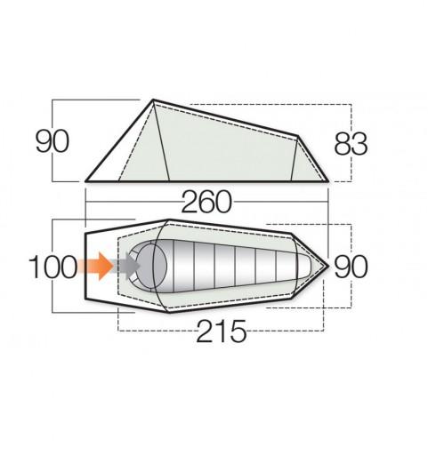 Vango Helix 100 Tent 2017
