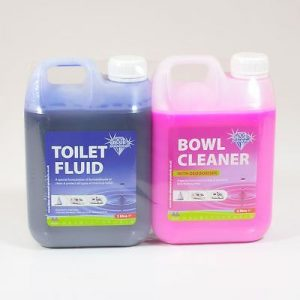 Blue Diamond Toilet Fluid/bowl Cleaner Twin Pack 2ltr