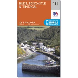 OS Map No 111 Bude Boscastle & Tintagel