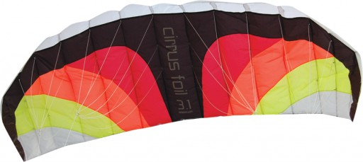 The Spirit of Air Cirrus Foil 3.1 Dual Line Kite is Sold by Devon Outdoor and The Camping and Kite Centre.