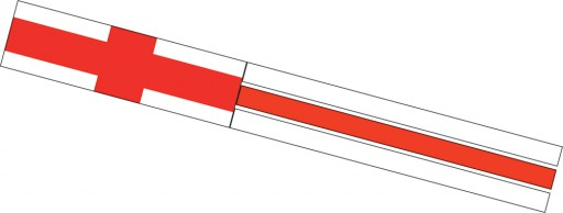 The Spirit of Air St George Windsock is Sold by Devon Outdoor and The Camping and Kite Centre.