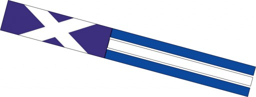 Spirit of Air St Andrew Windsock is Sold by Devon Outdoor and The Camping and Kite Centre.