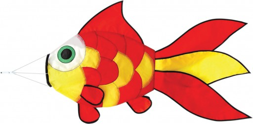 The Spirit of Air Goldfish Windsock is Sold by Devon Outdoor and The Camping and Kite Centre.