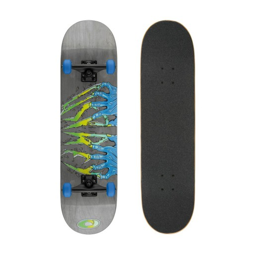 The Osprey Claws Double Kick Skateboard is Sold by Devon Outdoor and The Camping and Kite Centre.