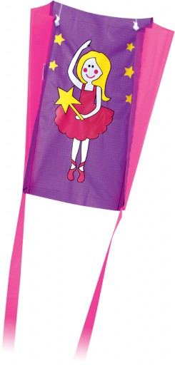 The Spirit of Air Pocket Pal Dancer Sled Kite is Sold by Devon Outdoor and The Camping and Kite Centre.