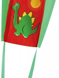 The Spirit of Air Pocket Pal Dino Sled Kite is Sold by Devon Outdoor and The Camping and Kite Centre.