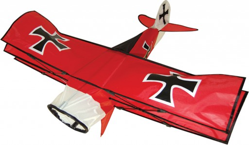 The Spirit of Air Red Baron Kite is Sold by Devon Outdoor and The Camping and Kite Centre.