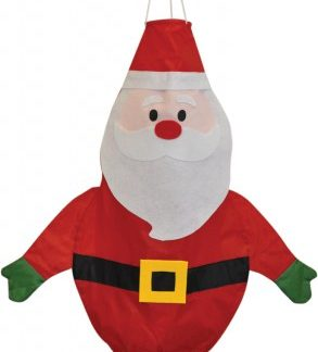 The Spirit of Air Santa Windsock is Sold by Devon Outdoor and The Camping and Kite Centre.