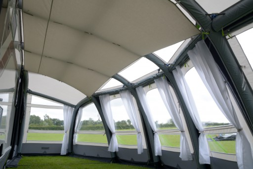 The Kampa Rally Air Pro 260 Roof Lining is Sold by Devon Outdoor and The Camping and Kite Centre.