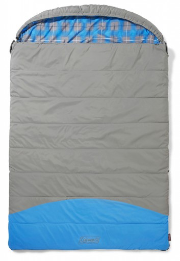 The Coleman Basalt Double Sleeping Bag is Sold by Devon Outdoor and The Camping and Kite Centre.