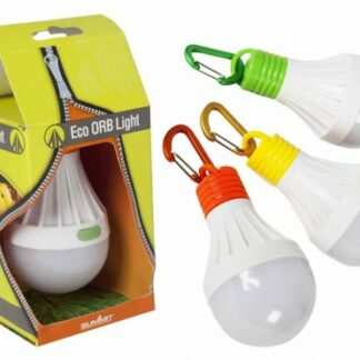 The Summit Eco Orb Light is Sold by Devon Outdoor and The Camping and Kite Centre.