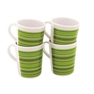 Outwell Blossom Mug Set 4 pcs Pogonia Green