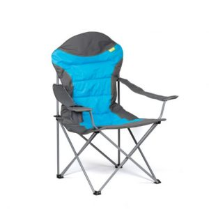 The Kampa XL Highback Chair is Sold by Devon Outdoor and The Camping and Kite Centre.
