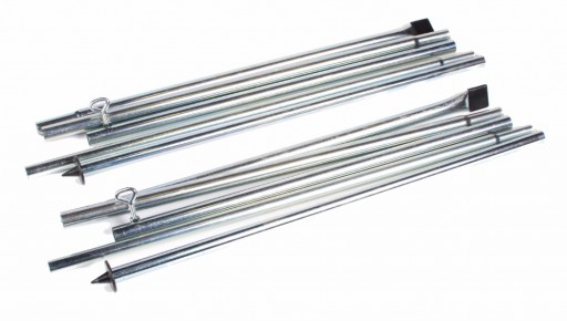 The Kampa Rear Upright Pole Set is Sold by Devon Outdoor and The Camping and Kite Centre.
