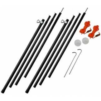 The Vango Adjustable Steel King Poles 180 To 220cm are Sold by Devon Outdoor and The Camping and Kite Centre.