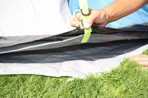 The Sunncamp Invadair 800 Footprint is Sold by Devon Outdoor and The Camping and Kite Centre.