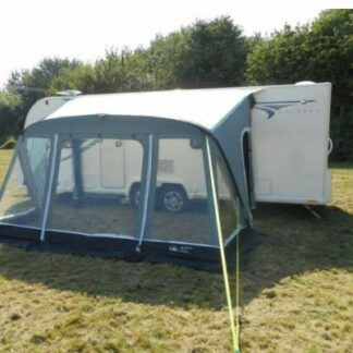 The Sunncamp Swift Air 390 is Sold by Devon Outdoor and The Camping and Kite Centre.