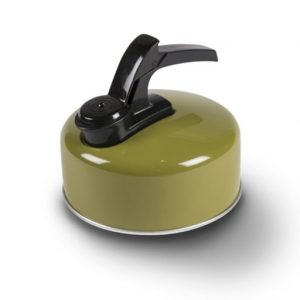 The Kampa Billy 1L Whistling Kettle is Sold by Devon Outdoor and The Camping and Kite Centre.