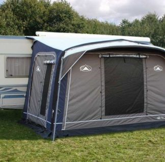 The Sunncamp Advance Midway Caravan Awning is sold by Devon Outdoor and The Camping and Kite Centre