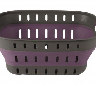 The Outwell Collaps Basket Rich Plum is Sold by Devon Outdoor and The Camping and Kite Centre.