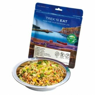 Trek 'N Eat Vegetable Jambalaya is Sold by Devon Outdoor and The Camping and Kite Centre.