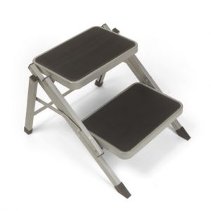 The Kampa Folding Double Step is Sold by Devon Outdoor and The Camping and Kite Centre.