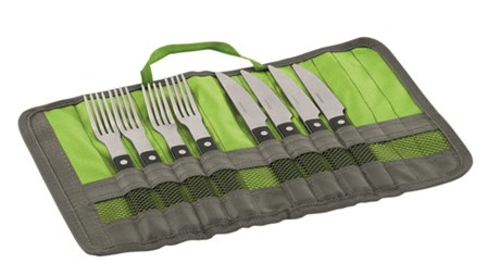 The Outwell BBQ Cutlery Set is Sold by Devon Outdoor and The Camping and Kite Centre.