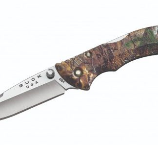 The Buck Bantam BBW - Realtree Camo is Sold by Devon Outdoor and The Camping and Kite Centre.