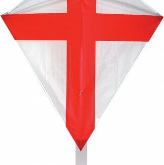 The Spirit of Air St George Diamond Kite is Sold by Devon Outdoor and The Camping and Kite Centre.