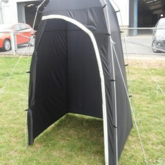 The Kampa Loo Loo Toilet Tent is Sold by Devon Outdoor and The Camping and Kite Centre.