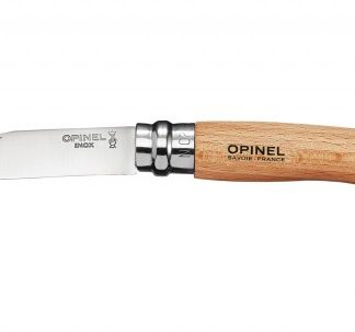 The Opinel Round Ended Safety Lock Knife No.7 is Sold by Devon Outdoor and The Camping and Kite Centre.