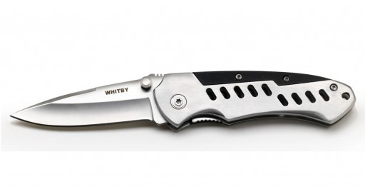 The G-10 Lock Knife from Whitby is Sold by Devon Outdoor and The Camping and Kite Centre.