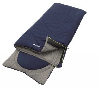 The Outwell Contour Junior Sleeping Bag is sold by Devon Outdoor and The Camping and Kite Centre
