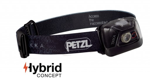 The Petzl Tikka Headlamp is Sold by Devon Outdoor and The Camping and Kite Centre.