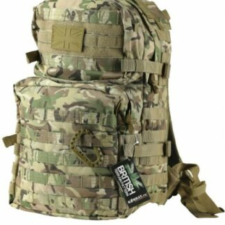 The KombatUK Medium Assault Pack 40Ltr is Sold by Devon Outdoor and The Camping and Kite Centre.